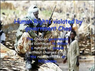 Human Rights violated by government Chad