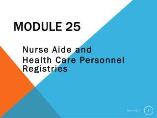 Module 25