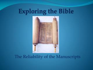 Exploring  the Bible