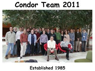 Condor Team 2011