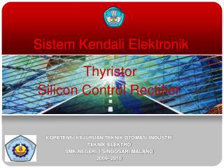 Sistem Kendali Elektronik