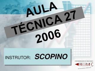 AULA T�CNICA 27 2006