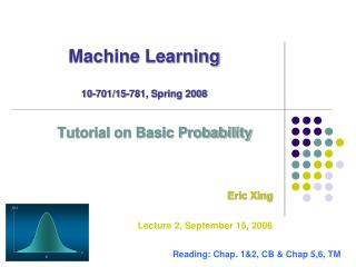 Machine Learning 10-701/15-781, Spring 2008