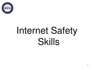 Internet Safety Skills