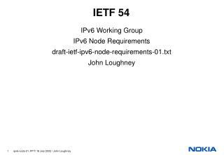 IETF 54