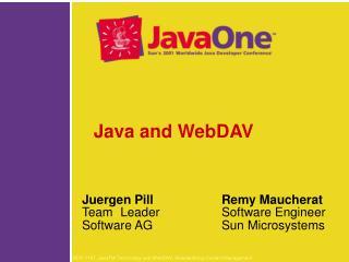 Java and WebDAV