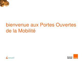 Bienvenue aux Portes Ouvertes de la Mobilit