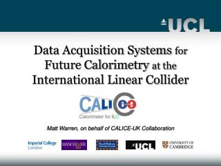Data Acquisition Systems  for Future Calorimetry  at the International Linear Collider