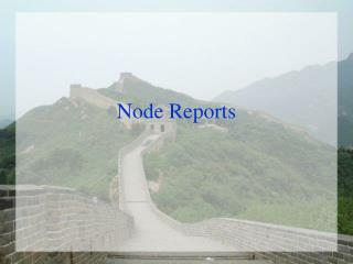 Node Reports