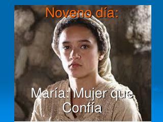 María: Mujer que Confía