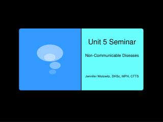 Unit 5 Seminar