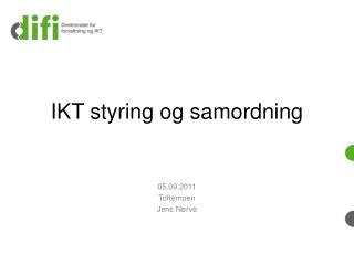 IKT styring og samordning