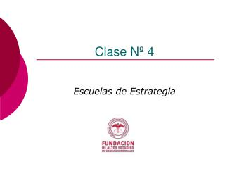 Clase N� 4