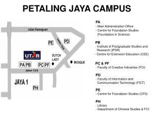 PETALING JAYA CAMPUS
