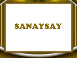 SANAYSAY