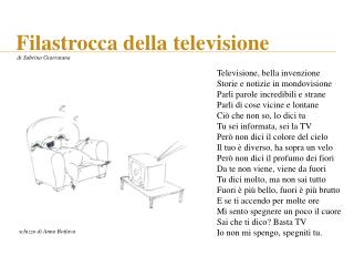 Filastrocca della televisione
