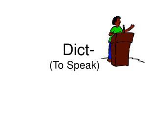 Dict-