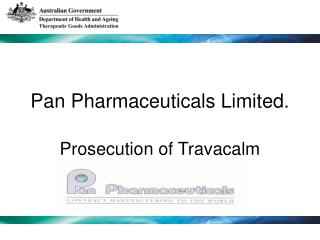 Pan Pharmaceuticals Limited.