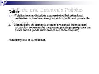 Political and Economic Policies of Joseph Stalin and Mikhail Gorbachev