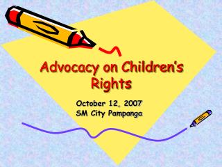 Advocacy on Children's Rights