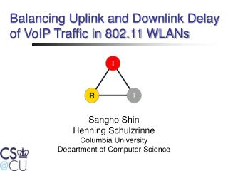 Balancing Uplink and Downlink Delay of VoIP Traffic in 802.11 WLANs