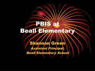 PBIS at  Beall Elementary