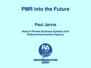 PMR into the Future