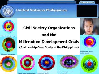 Civil Society Organizations  and the Millennium Development Goals