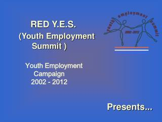 RED Y.E.S.  (Youth Employment Summit )      Youth Employment Campaign   2002 - 2012