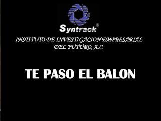 TE PASO EL BALON