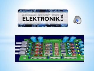 Radiorör och  transistor