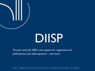 DIISP