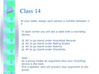 Class 14