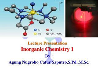 Lecture Presentation Inorganic Chemistry 1
