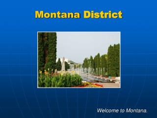 Montana  District