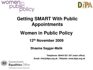 Getting SMART With Public Appointments
