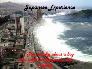 Japanese Experience