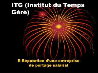 ITG (Institut du Temps Géré)