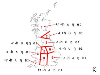 Mapping the British Isles