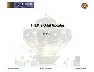 THEMIS Orbit Updates  S.Frey