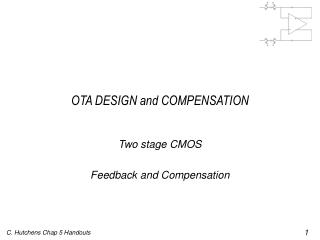 OTA DESIGN and COMPENSATION