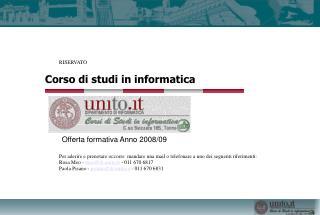 Corso di studi in informatica