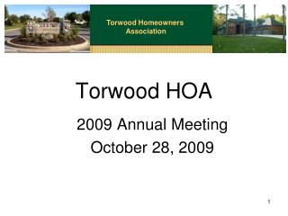 Torwood HOA