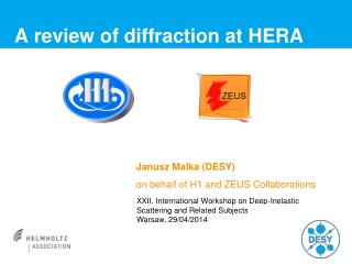 A review of diffraction at  HERA