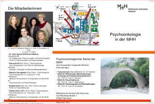 Psychoonkologie in der MHH