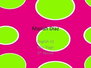 Mariah Diaz