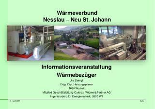 W rmeverbund Nesslau   Neu St. Johann