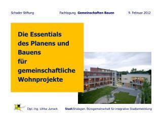 Die Essentials  des Planens und Bauens    für gemeinschaftliche Wohnprojekte