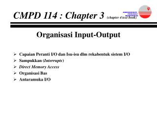 CMPD 114 : Chapter 3  (chapter 4 text book)