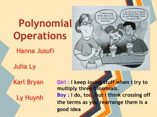 Polynomial Operations